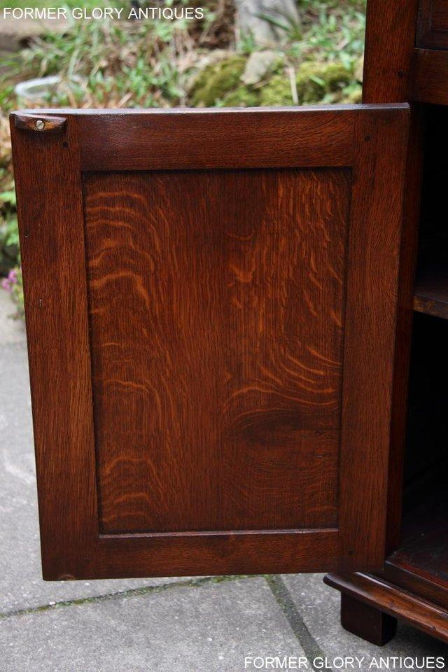 Image 20 of TITCHMARSH & GOODWIN SERVING TABLE DRINKS WINE CABINET STAND