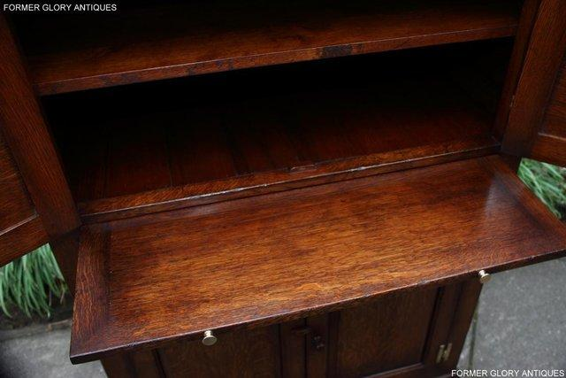 Image 21 of TITCHMARSH & GOODWIN SERVING TABLE DRINKS WINE CABINET STAND