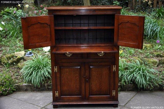 Image 26 of TITCHMARSH & GOODWIN SERVING TABLE DRINKS WINE CABINET STAND