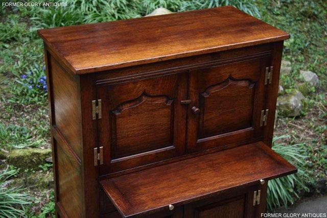 Image 27 of TITCHMARSH & GOODWIN SERVING TABLE DRINKS WINE CABINET STAND
