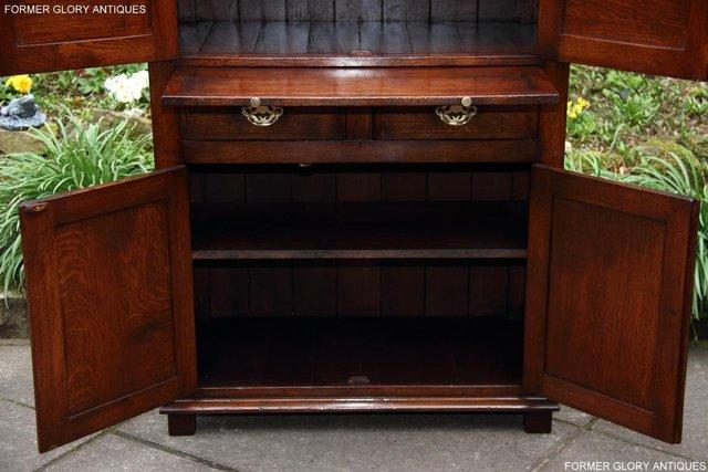 Image 34 of TITCHMARSH & GOODWIN SERVING TABLE DRINKS WINE CABINET STAND