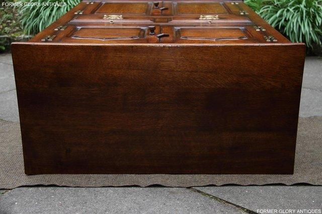 Image 39 of TITCHMARSH & GOODWIN SERVING TABLE DRINKS WINE CABINET STAND