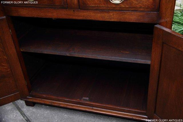 Image 40 of TITCHMARSH & GOODWIN SERVING TABLE DRINKS WINE CABINET STAND