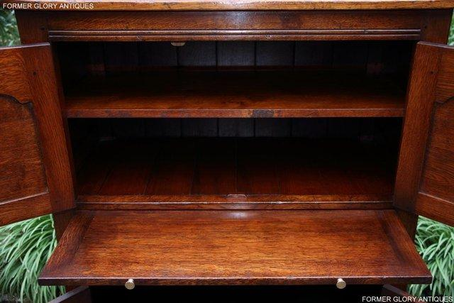 Image 42 of TITCHMARSH & GOODWIN SERVING TABLE DRINKS WINE CABINET STAND