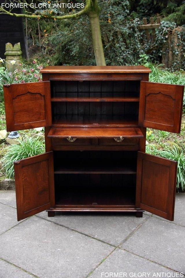 Image 43 of TITCHMARSH & GOODWIN SERVING TABLE DRINKS WINE CABINET STAND