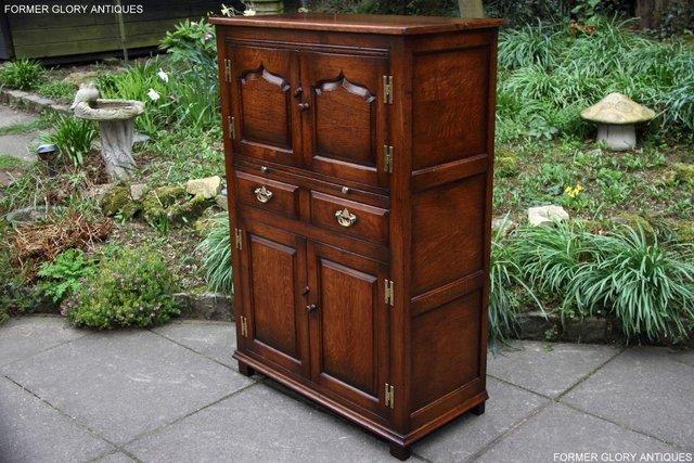 Image 45 of TITCHMARSH & GOODWIN SERVING TABLE DRINKS WINE CABINET STAND