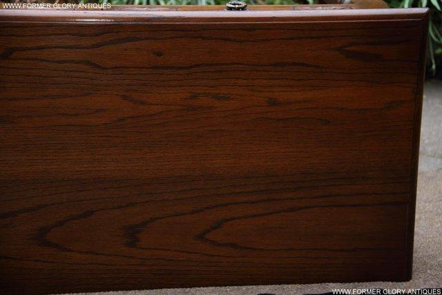 Image 39 of AN OLD CHARM LIGHT OAK LAMP PHONE HALL TABLE STAND SIDEBOARD