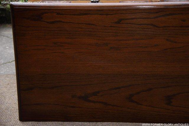Image 40 of AN OLD CHARM LIGHT OAK LAMP PHONE HALL TABLE STAND SIDEBOARD