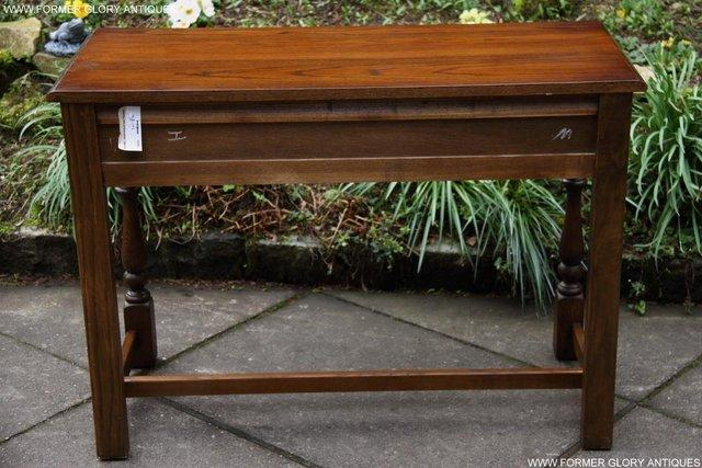 Image 41 of AN OLD CHARM LIGHT OAK LAMP PHONE HALL TABLE STAND SIDEBOARD