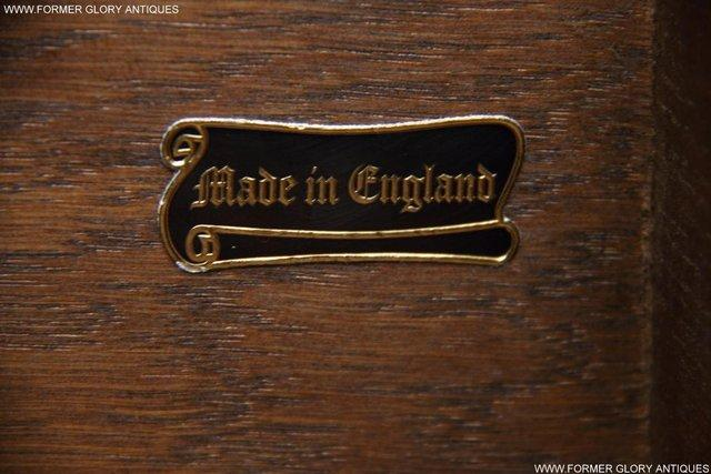 Image 43 of AN OLD CHARM LIGHT OAK LAMP PHONE HALL TABLE STAND SIDEBOARD