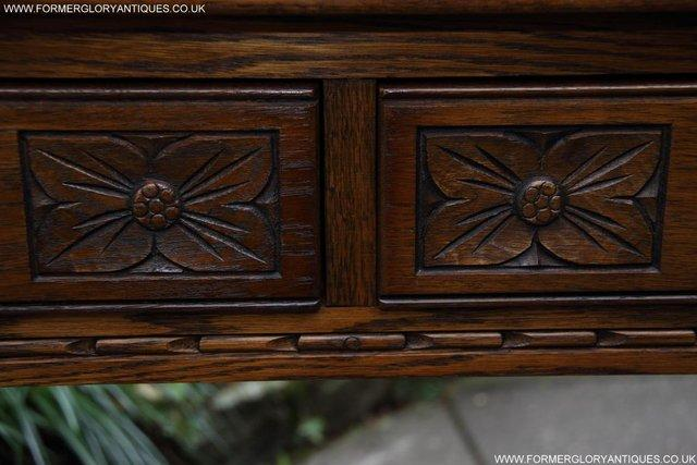 Image 54 of AN OLD CHARM LIGHT OAK LAMP PHONE HALL TABLE STAND SIDEBOARD