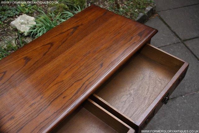 Image 55 of AN OLD CHARM LIGHT OAK LAMP PHONE HALL TABLE STAND SIDEBOARD