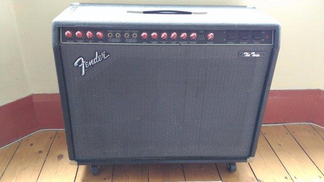 Preview of the first image of Fender The Twin valve guitar amp - 1980's - USA.