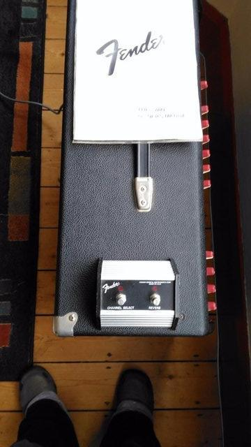 Image 2 of Fender The Twin valve guitar amp - 1980's - USA