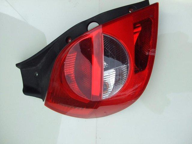 Preview of the first image of Renault clio rear light cluster. includes postage..