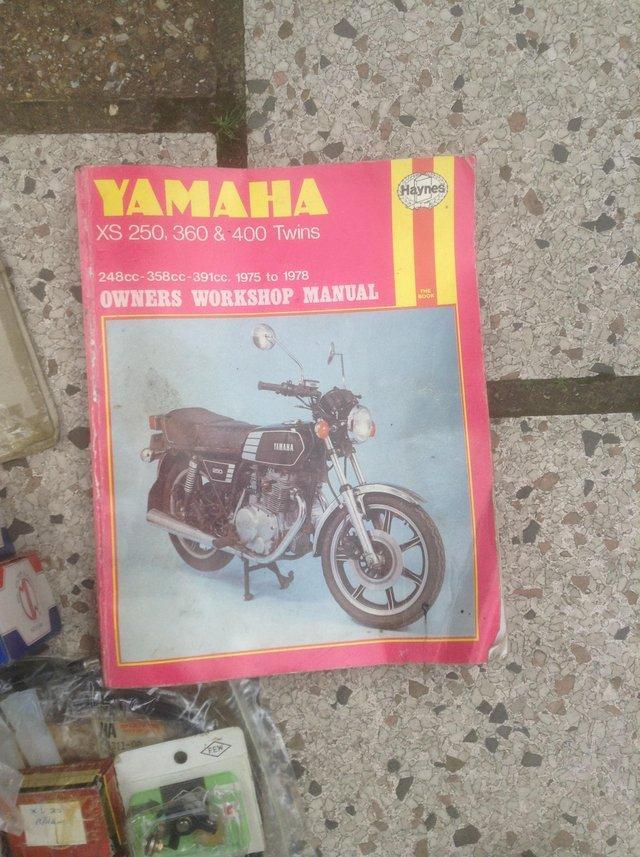 Yamaha XS  250 new unused parts