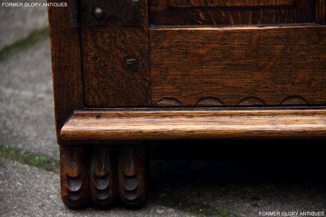 Image 4 of NIGEL RUPERT GRIFFITHS OAK DRESSER BASE SIDEBOARD HALL TABLE