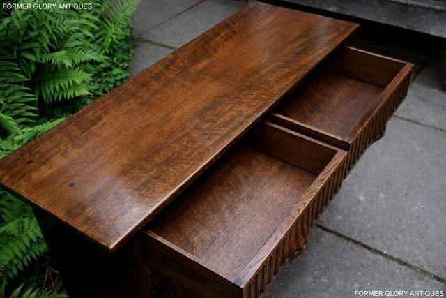 Image 5 of NIGEL RUPERT GRIFFITHS OAK DRESSER BASE SIDEBOARD HALL TABLE