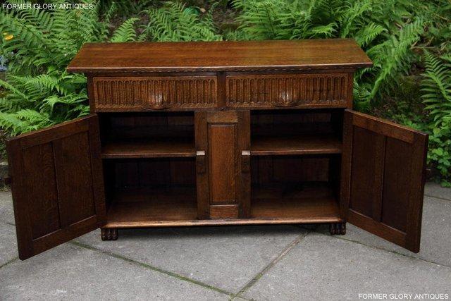 Image 6 of NIGEL RUPERT GRIFFITHS OAK DRESSER BASE SIDEBOARD HALL TABLE