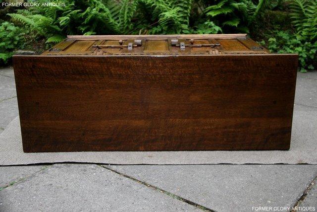 Image 9 of NIGEL RUPERT GRIFFITHS OAK DRESSER BASE SIDEBOARD HALL TABLE