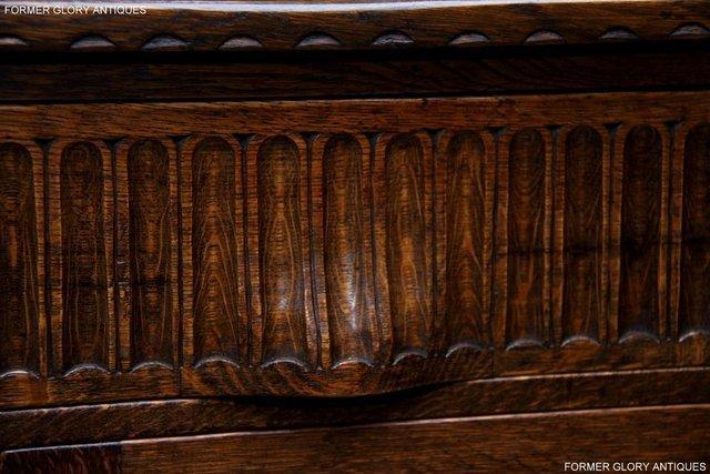 Image 10 of NIGEL RUPERT GRIFFITHS OAK DRESSER BASE SIDEBOARD HALL TABLE