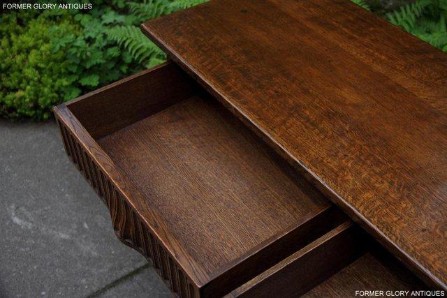Image 11 of NIGEL RUPERT GRIFFITHS OAK DRESSER BASE SIDEBOARD HALL TABLE