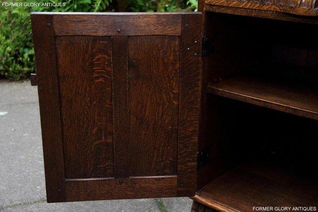 Image 12 of NIGEL RUPERT GRIFFITHS OAK DRESSER BASE SIDEBOARD HALL TABLE