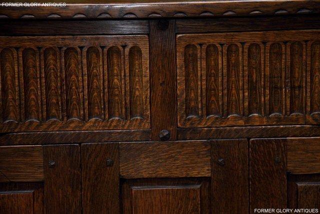 Image 16 of NIGEL RUPERT GRIFFITHS OAK DRESSER BASE SIDEBOARD HALL TABLE