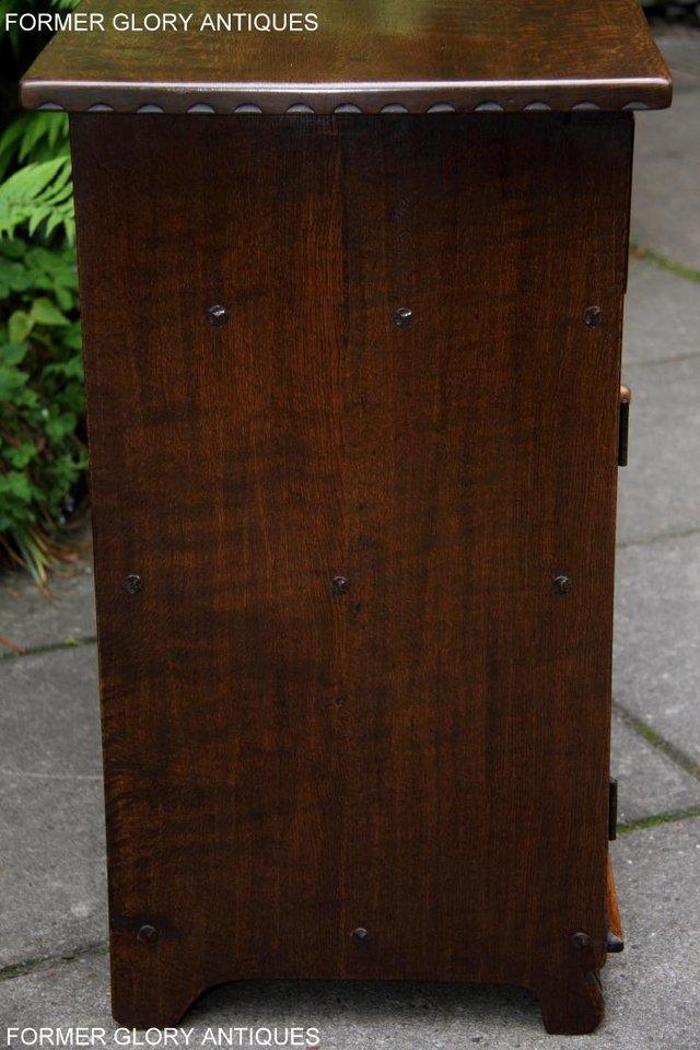 Image 29 of NIGEL RUPERT GRIFFITHS OAK DRESSER BASE SIDEBOARD HALL TABLE