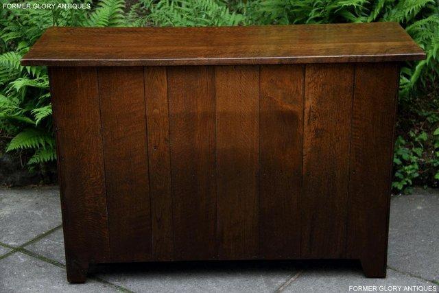 Image 30 of NIGEL RUPERT GRIFFITHS OAK DRESSER BASE SIDEBOARD HALL TABLE
