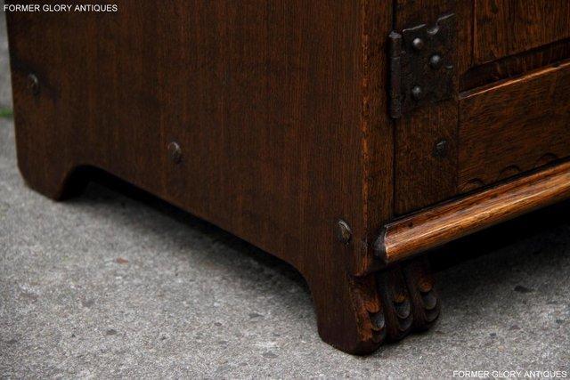 Image 33 of NIGEL RUPERT GRIFFITHS OAK DRESSER BASE SIDEBOARD HALL TABLE