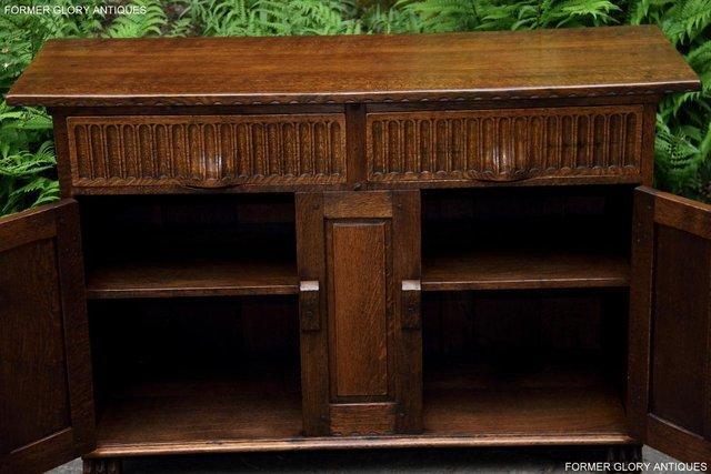 Image 41 of NIGEL RUPERT GRIFFITHS OAK DRESSER BASE SIDEBOARD HALL TABLE