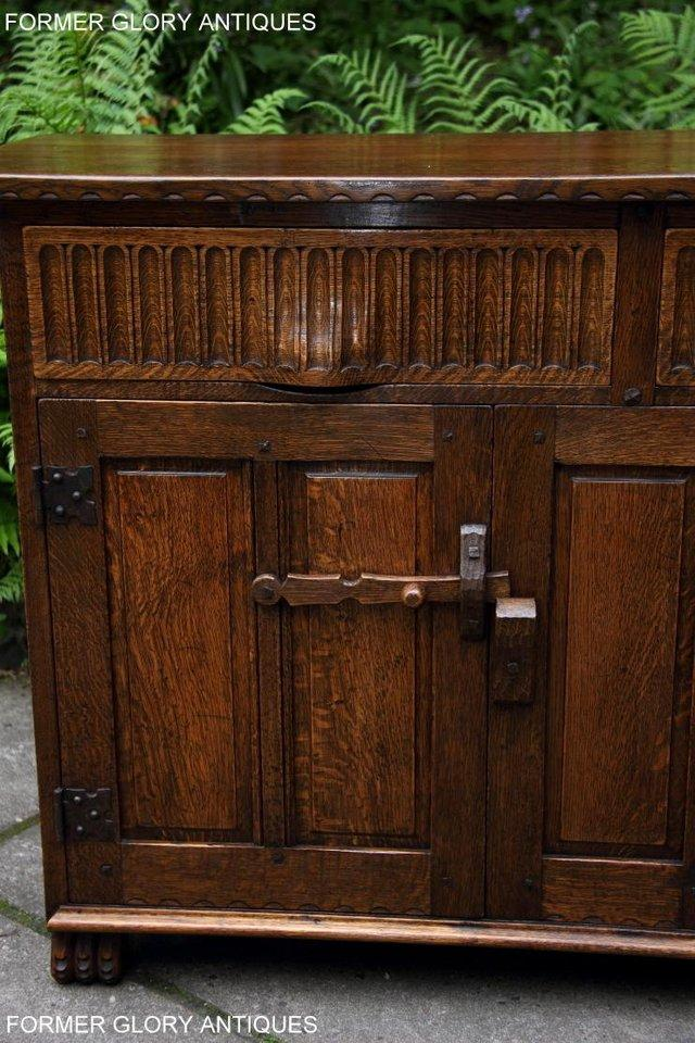 Image 44 of NIGEL RUPERT GRIFFITHS OAK DRESSER BASE SIDEBOARD HALL TABLE