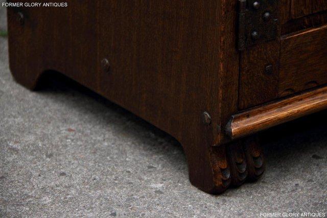 Image 45 of NIGEL RUPERT GRIFFITHS OAK DRESSER BASE SIDEBOARD HALL TABLE