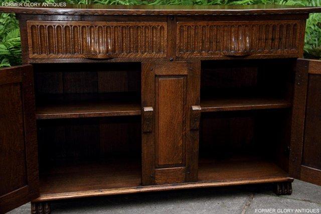 Image 53 of NIGEL RUPERT GRIFFITHS OAK DRESSER BASE SIDEBOARD HALL TABLE