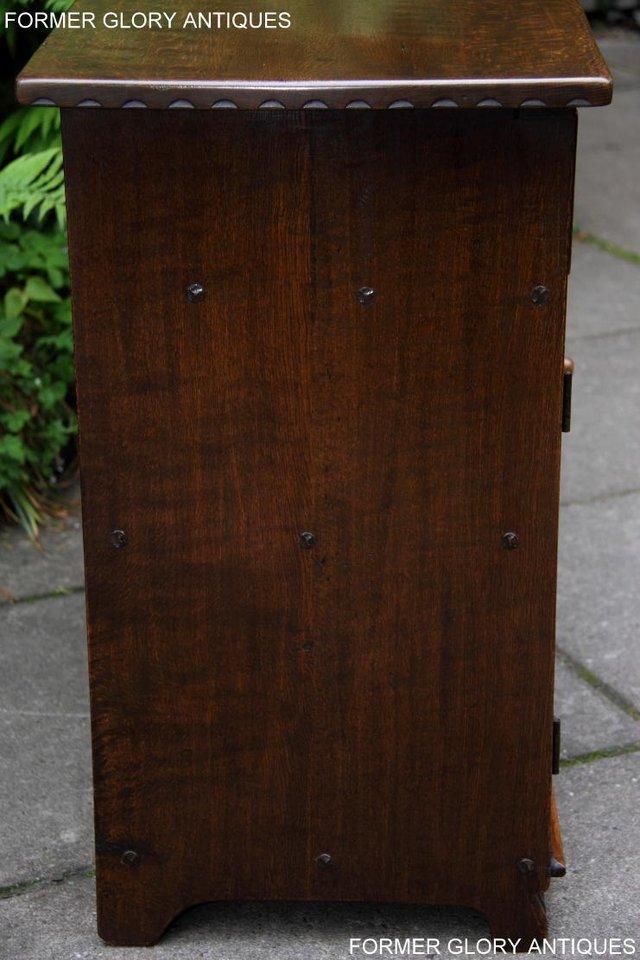 Image 58 of NIGEL RUPERT GRIFFITHS OAK DRESSER BASE SIDEBOARD HALL TABLE