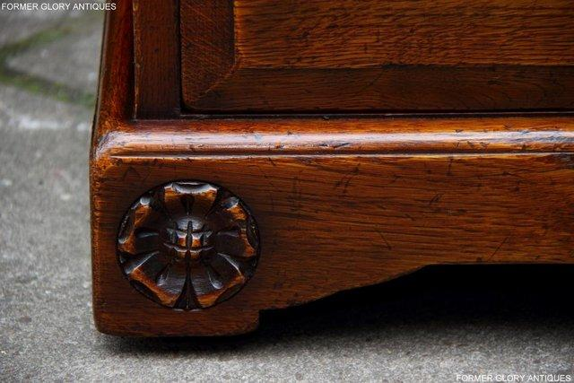 Image 11 of TITCHMARSH GOODWIN ROYAL OAK WARDROBE CHEST OF DRAWERS STAND