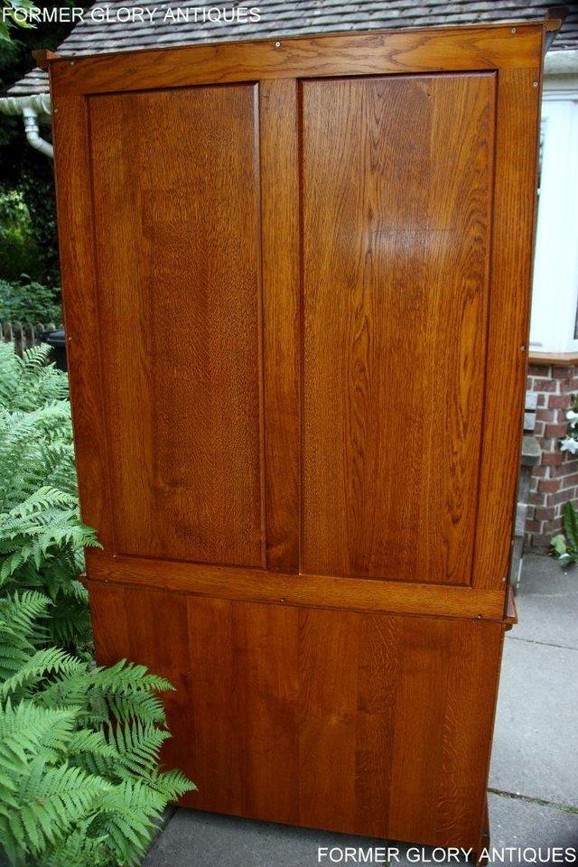 Image 13 of TITCHMARSH GOODWIN ROYAL OAK WARDROBE CHEST OF DRAWERS STAND