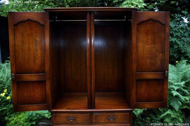 Image 14 of TITCHMARSH GOODWIN ROYAL OAK WARDROBE CHEST OF DRAWERS STAND