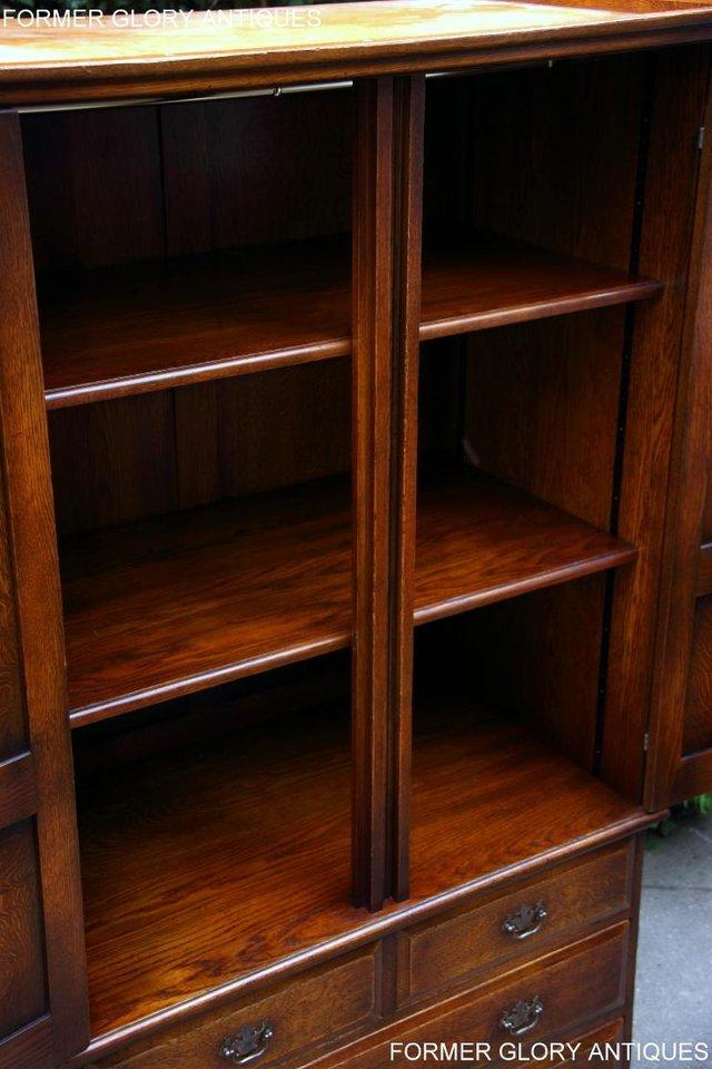 Image 16 of TITCHMARSH GOODWIN ROYAL OAK WARDROBE CHEST OF DRAWERS STAND