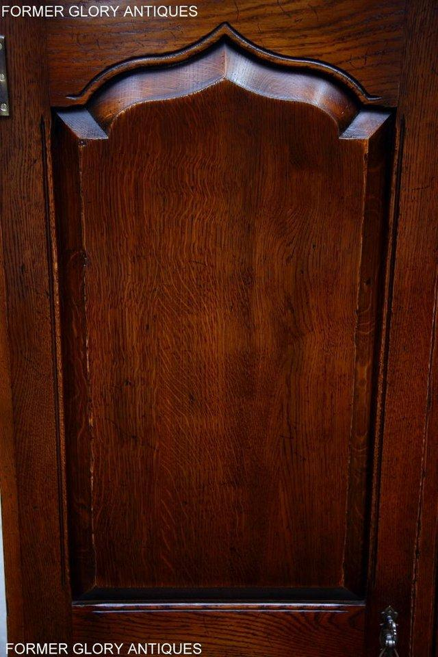 Image 40 of TITCHMARSH GOODWIN ROYAL OAK WARDROBE CHEST OF DRAWERS STAND