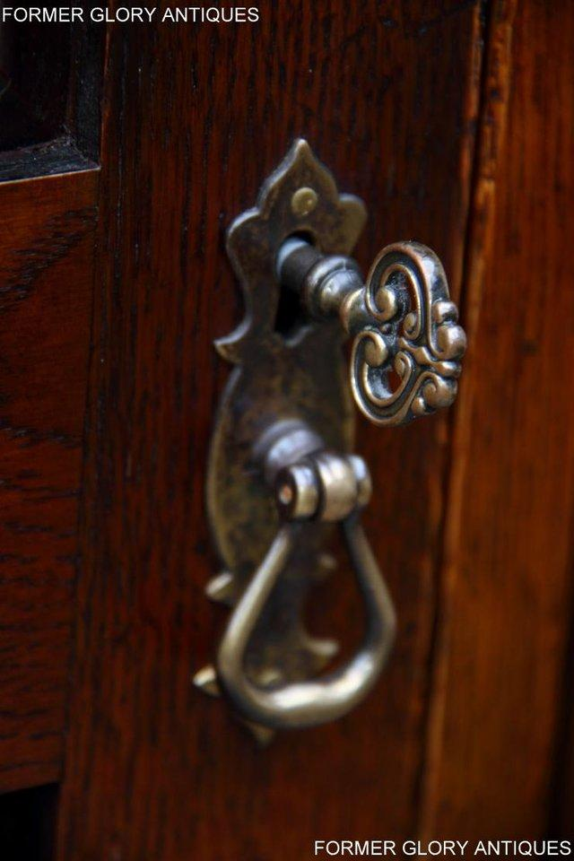 Image 49 of TITCHMARSH GOODWIN ROYAL OAK WARDROBE CHEST OF DRAWERS STAND