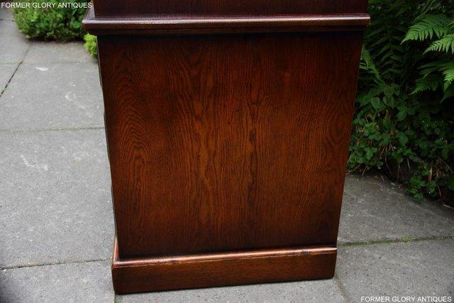 Image 56 of TITCHMARSH GOODWIN ROYAL OAK WARDROBE CHEST OF DRAWERS STAND