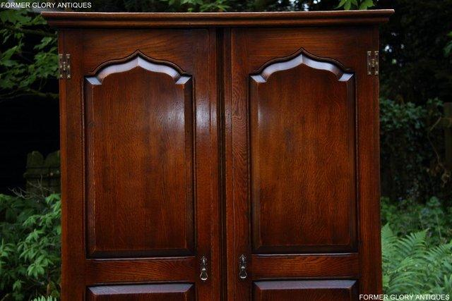 Image 73 of TITCHMARSH GOODWIN ROYAL OAK WARDROBE CHEST OF DRAWERS STAND