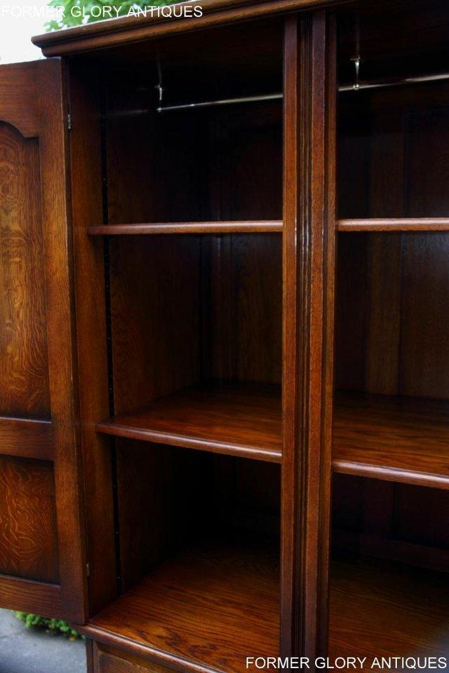 Image 75 of TITCHMARSH GOODWIN ROYAL OAK WARDROBE CHEST OF DRAWERS STAND