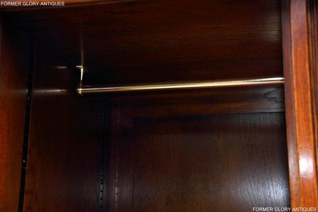 Image 77 of TITCHMARSH GOODWIN ROYAL OAK WARDROBE CHEST OF DRAWERS STAND