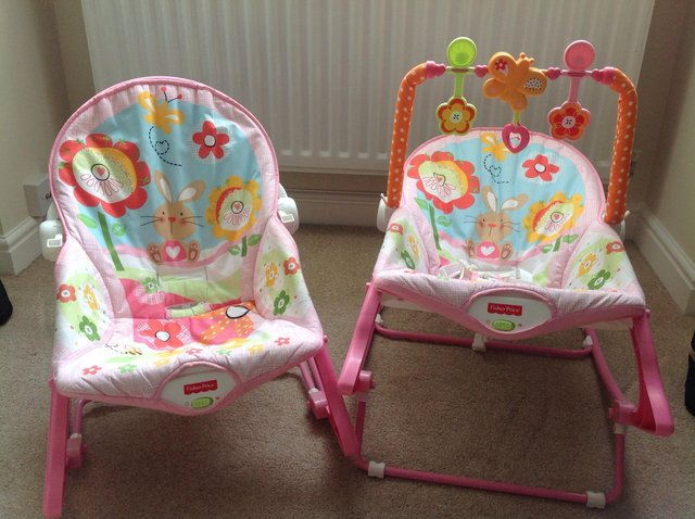 ... Infant To Toddler Rocker Seats In Excellent Condition From A Smoke Free  U0026 Pet Free Home. The Chairs Can Be Used From Birth In A Fully Reclined  Position ...