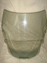 HONDA FAIRING CLEAR BUBBLE SCREEN & BICYCLE SEAT - £10