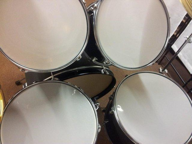 Image 2 of CB drum kit with upgraded cymbals for sale.
