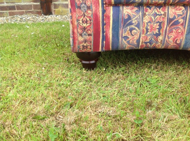 Preview of the first image of Patterned settees.